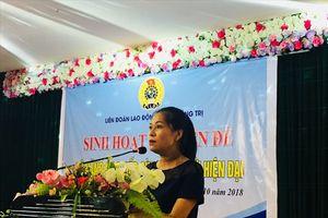 LĐLĐ tỉnh Quảng Trị: Sinh hoạt chuyên đề 'Kỹ năng giao tiếp cùng con thời hiện đại'