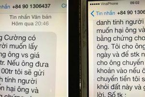 Chánh văn phòng đoàn ĐBQH bị nhắn tin đe dọa nói gì?