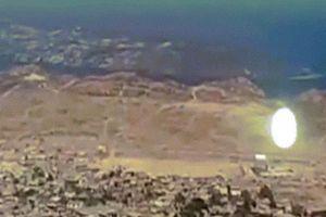 UFO hình đốm sáng bí ẩn lơ lửng trên bầu trời Chile
