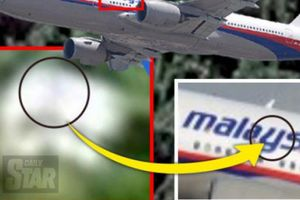 Nóng: Đã tìm thấy phần thân máy bay MH370 trong rừng rậm Campuchia