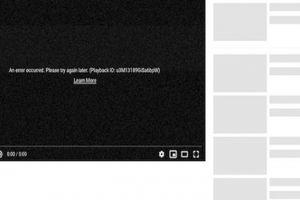 YouTube sập toàn cầu: Dân mạng VN hoang mang, YouTube lên Facebook xin lỗi
