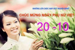 10 lời chúc ngày Phụ nữ Việt Nam 20/10 hay, ý nghĩa