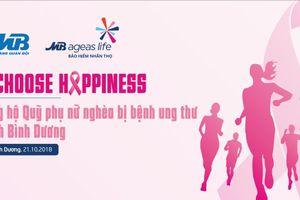 'Tôi chọn hạnh phúc – I choose happiness' vì phụ nữ nghèo bị ung thư