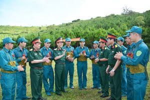 Kiểm tra công tác quốc phòng, quân sự địa phương tại tỉnh Gia Lai