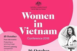 Tổng Lãnh sự quán Australia tổ chức Hội nghị Phụ nữ Việt Nam 2018