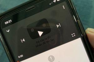 YouTube gặp sự cố không thể truy cập