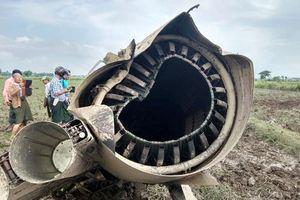 Loạn nguyên nhân hai máy bay chiến đấu Myanmar rơi trong một buổi sáng