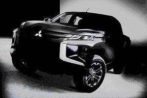 Mitsubishi 'nhá hàng' bán tải Triton 2019 chốt ngày ra mắt