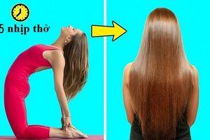 8 tư thế yoga vừa sáng da đẹp dáng lại cải thiện mái tóc gãy rụng vô cùng hiệu quả