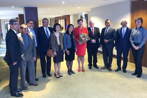 Đại sứ Việt Nam Ngô Thị Hòa chủ trì ăn trưa làm việc Nhóm các Đại sứ châu Á