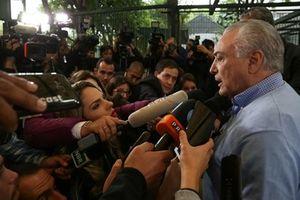Cảnh sát Brazil đề nghị truy tố Tổng thống Michel Temer