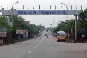 Hà Nội: Xây dựng tuyến đường kết nối QL32 với thị trấn Tây Đằng