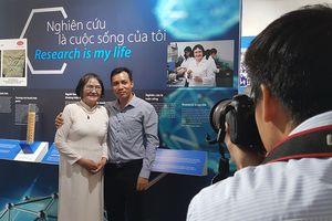 Xem phụ nữ Việt Nam làm khoa học thật