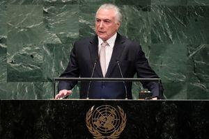 Tổng thống Brazil bị đề nghị truy tố tội tham nhũng, rửa tiền
