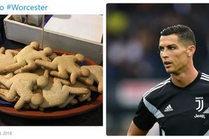 Tiệm cà phê ở Anh gặp rắc rối vì làm bánh... về Cristiano Ronaldo