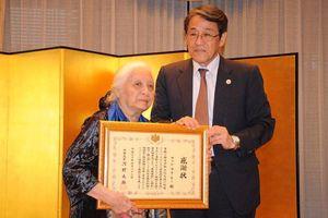 Nhật Bản truy tặng bằng khen cho giáo sư Phan Huy Lê