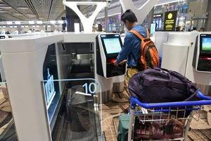 Tự động hóa check-in bằng nhận diện khuôn mặt ở sân bay Thượng Hải