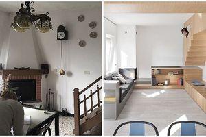Những biến tấu tài tình giúp nhà cũ nát thành nơi ở đẹp long lanh