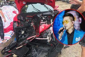 Tuấn Hưng lên tiếng về vụ siêu xe 16 tỷ bị tai nạn