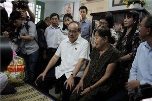Bí thư Thành ủy TPHCM thăm người dân Thủ Thiêm