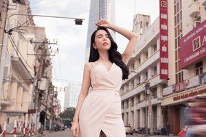 Huỳnh Vy mang vẻ đẹp hiện đại của TPHCM đến với bạn bè quốc tế