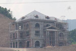 Công ty cổ phần xi măng Công Thanh xây dựng trái phép trên đất đồi