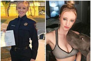 Nữ cảnh sát Mỹ nóng bỏng hơn siêu mẫu, mặt tựa như tranh vẽ