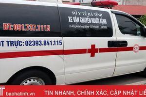 Vui buồn nghề lái xe cứu thương