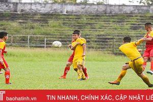 Ghi 1 bàn thắng, U19 Hà Tĩnh vẫn bại trận trước đàn anh U21 SLNA