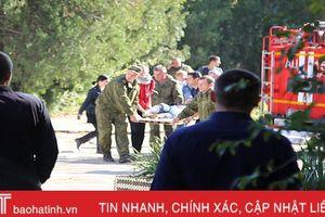Xả súng, đánh bom trường học tại bán đảo Crimea, 18 người chết