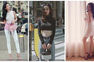 Street style giới trẻ: Sĩ Thanh bất ngờ kín đáo - Thúy Vi một mực giữ phong cách 'già chát'