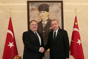Tổng thống Thổ Nhĩ Kỳ tiếp Ngoại trưởng Mỹ ngay tại sân bay