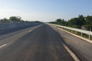 Khắc phục xong hư hỏng mặt đường cao tốc Đà Nẵng - Quảng Ngãi