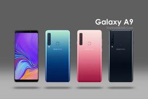 Samsung Galaxy A9 sử dụng 04 camera để làm gì?