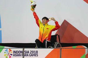 Siêu kình ngư teo chân đoạt 3 HCV Asian Para Games