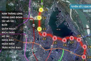 Báo cáo Quốc hội điều chỉnh tuyến metro số 2 của Hà Nội