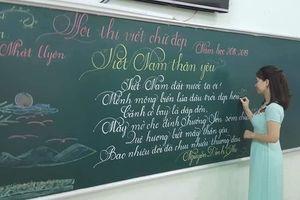Hình ảnh 18 bài viết chữ đẹp của cô giáo tiểu học khiến dân mạng sục sôi