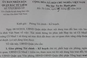 Vụ bia hơi Hải Yến 'mọc' trên đất xưởng may: Chủ tịch UBND quận Bắc Từ Liêm yêu cầu kiểm tra