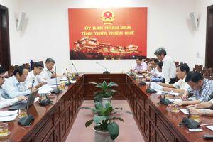 Đoàn công tác Bộ TN&MT làm việc với tỉnh Thừa Thiên Huế về chương trình xây dựng nông thôn mới