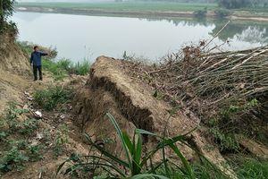Cẩm Thủy (Thanh Hóa): Tạm dừng gia hạn giấy phép khai thác mỏ cát vì sạt lở