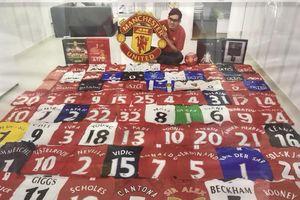 CĐV Việt Nam và bộ sưu tập 'khủng' xuất hiện trên trang chính thức của Man United