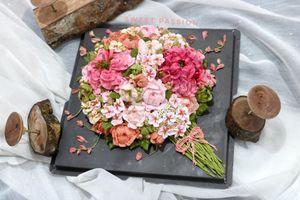 Quà tặng 20/10: Hoa tươi 'xưa' rồi, muốn độc, lạ đừng quên bánh kem hoa
