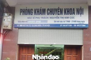 Hà Nội: Một bệnh nhi tử vong 'bất thường' ở Phòng khám Chuyên khoa nội?