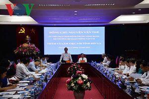 Bộ GTVT sẽ xem xét, ưu tiên nguồn vốn khắc phục sạt lở ở Sơn La