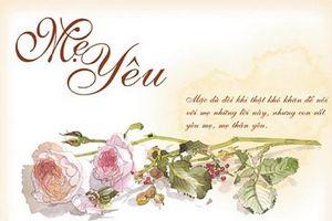 Lời chúc ngày Phụ nữ Việt Nam 20/10 dành tặng mẹ hay và tình cảm nhất