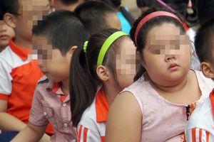Trẻ em béo phì gia tăng