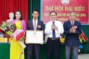 Đại hội điểm MTTQ cấp xã tại tỉnh Thanh Hóa