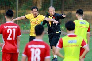 Đội tuyển Việt Nam tập huấn tại Hàn Quốc: HLV Park Hang-seo 'cấm cửa' truyền thông