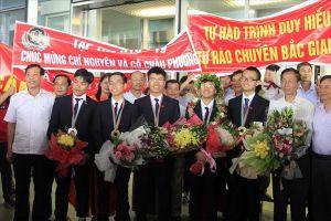 Loạt thành tích 'khủng' của học sinh Việt Nam trên đấu trường Olympic và Khoa học kỹ thuật quốc tế