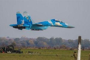 Tiêm kích Su-27 bị rơi là chiếc mới được Ukraine nâng cấp